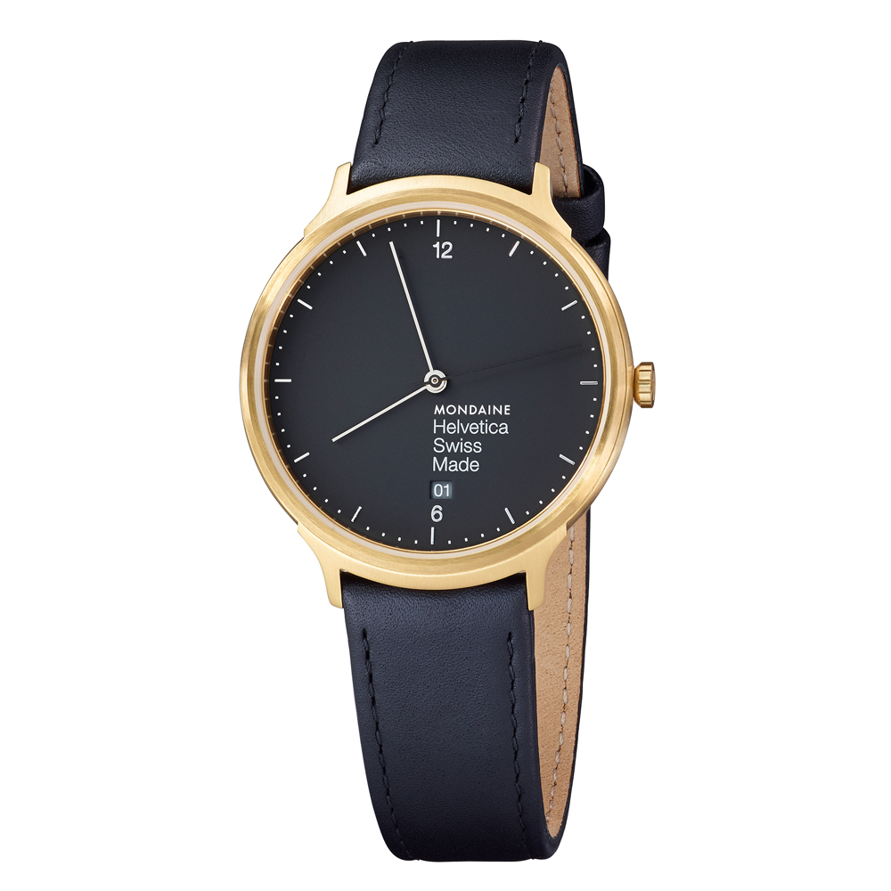 Mondaine Helvetica- No1 Light 38mm – Gullsmed J ...